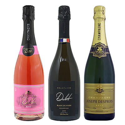 豪華シャンパン3本セット