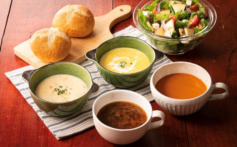 ロイヤルデリ4種のスープセット