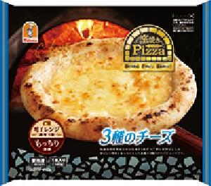 窯焼きピッツァ 3種のチーズ
