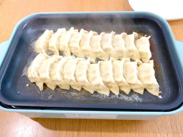 餃子屋龍 焼き方