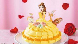 【ディズニー】クリスマスデコレーションケーキ 美女と野獣