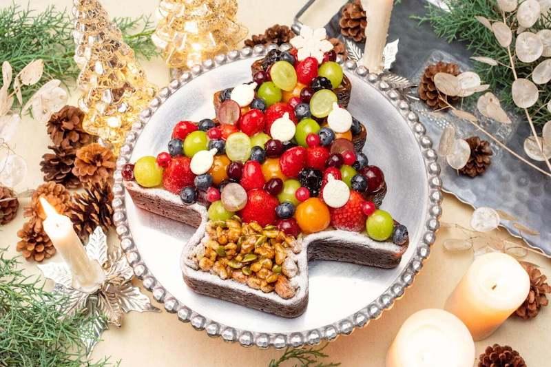 タルトプレミエ~クリスマスツリータルト