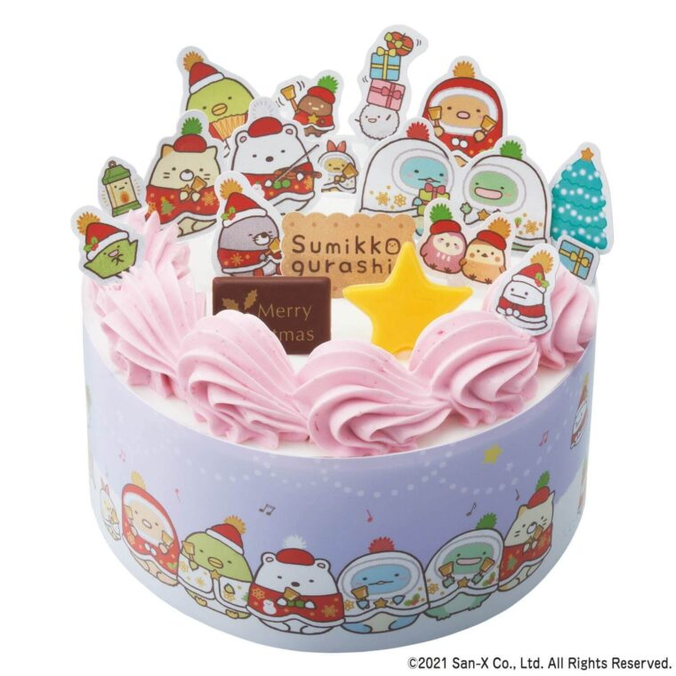 すみっコぐらし かざって楽しいクリスマスケーキ